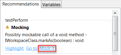 Creating Mocks - Parasoft Jtest DTP Engine 10 3 3 - Parasoft
