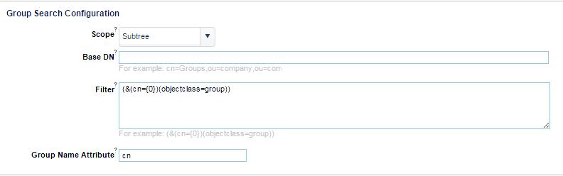 Advanced LDAP Configuration - Parasoft DTP 5 3 3 - Parasoft