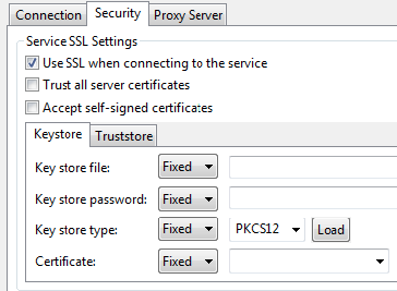 HTTP Configuration - SOAtest and Virtualize 9 10 3 with CTP