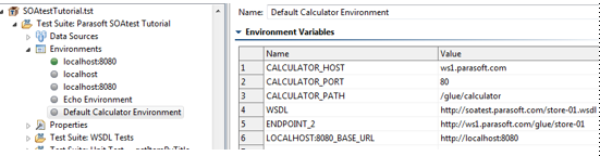 Configuring Variable Mappings - SOAtest and Virtualize 9 10 3 with
