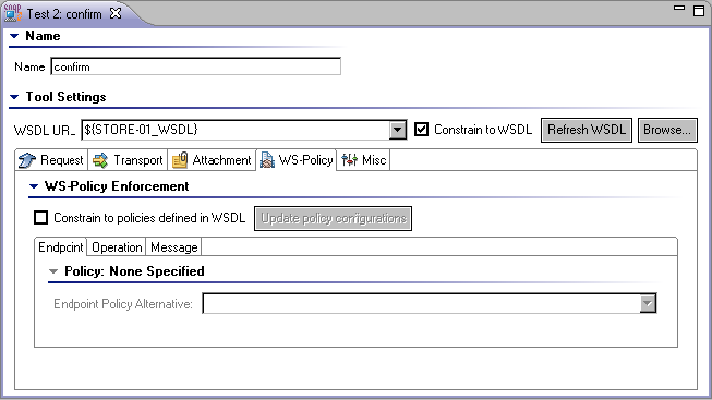 SOAP Client - SOAtest and Virtualize 9 10 3 with CTP 3 1 0