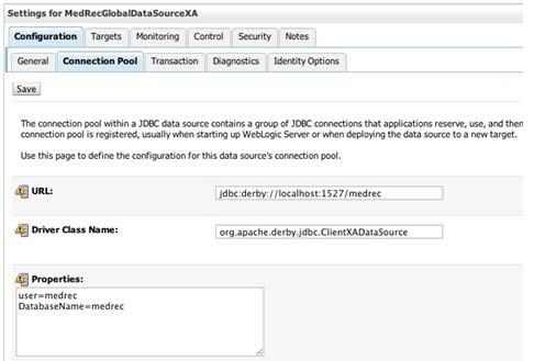 JDBC Configuration on Oracle WebLogic 10 3 (11g) Application