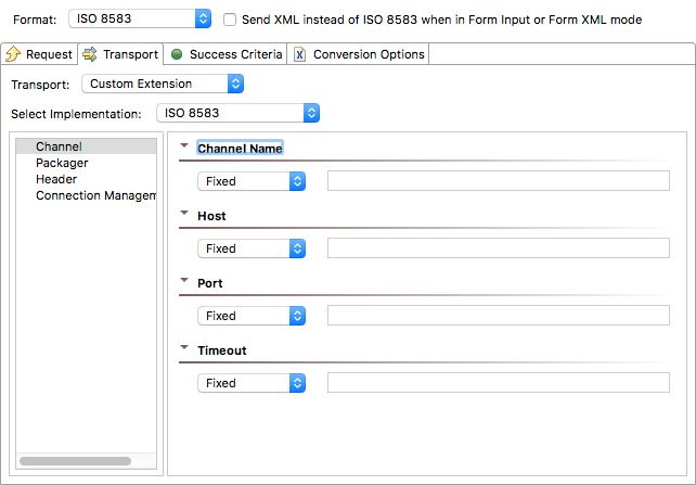 ISO 8583 Extensions 1 0 - SOAtest and Virtualize 9 10 3