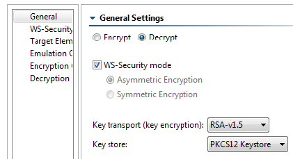 WS-Security - SOAtest 9 10 3 - Parasoft Documentation