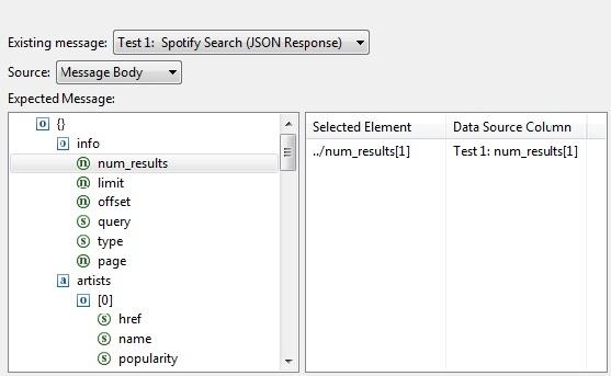 JSON Data Bank - SOAtest 9 10 3 - Parasoft Documentation