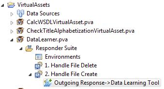 Data Learning Tool 1 1 - Virtualize 9 10 3 - Parasoft