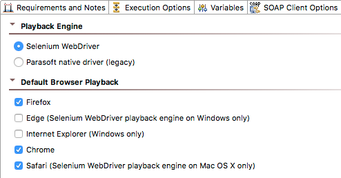 About the Selenium WebDriver Engine - SOAtest and Virtualize