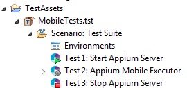 Appium Mobile Extensions 1 1 - SOAtest and Virtualize 9 10 4