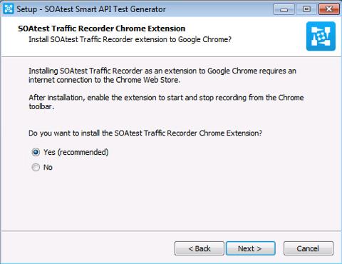 SOAtest Smart API Test Generator - Virtualize 9 10 5