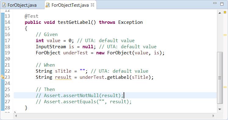 Creating a Basic Unit Test - Parasoft Jtest 10 4 1