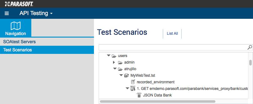 SOAtest Smart API Test Generator Usage - SOAtest and