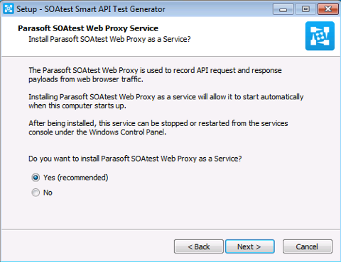 Getting Started with SOAtest Smart API Test Generator