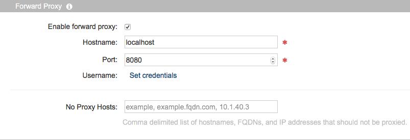 Network Settings - Parasoft DTP 5 4 1 - Parasoft Documentation