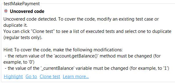 Increasing Code Coverage - Parasoft Jtest 10 4 1 - Parasoft