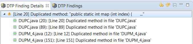 Viewing Code Duplicate Analysis Findings - Parasoft C/C++